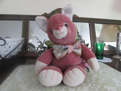 Pink Cat-Stuffed Animal