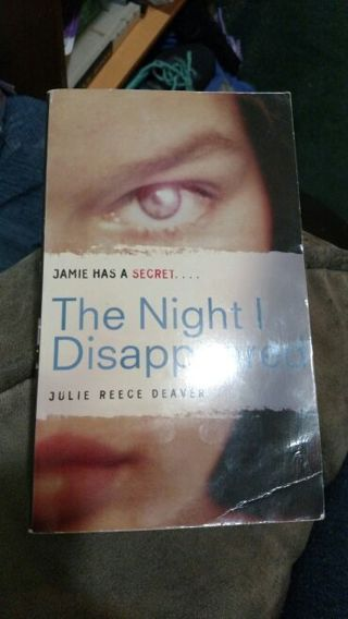 The Night I Disappeared by Julie Deaver (paperback)