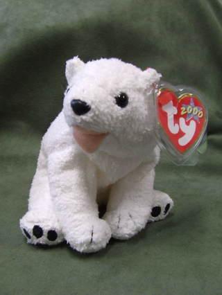 Free  TY Original Beanie Babies Aurora the Polar Bear - Dolls ... 608ddae3dff2