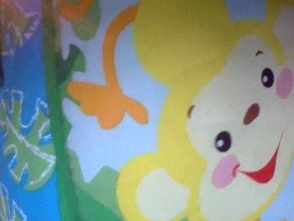 Jungle Baby Crib Bumper
