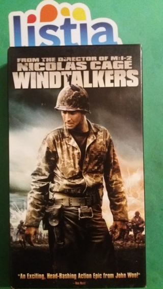 VHS movie  windtalkers   free shipping