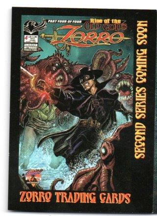 2021 Zorro Non Sport Update Promo Card