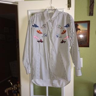 Ladies 100% cotton blouse