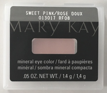 Mary Kay Mineral Eye Color .05 OZ. - Sweet Pink / Rose Doux 013017 RF08 - NEW