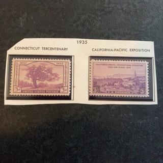 USA 1935 MNH collectable stamp set