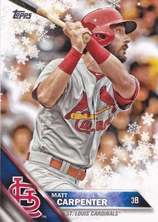 Matt Carpenter 2016 Topps Holiday St. Louis Cardinals