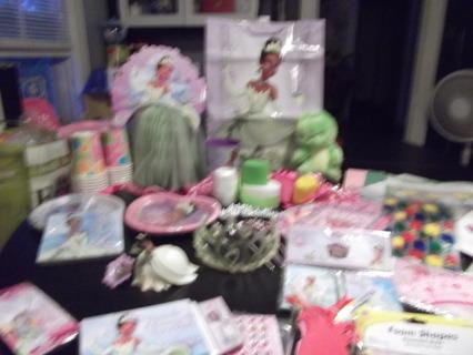 Free Princess Tiana Birthday Party Supplies Birthday Listia