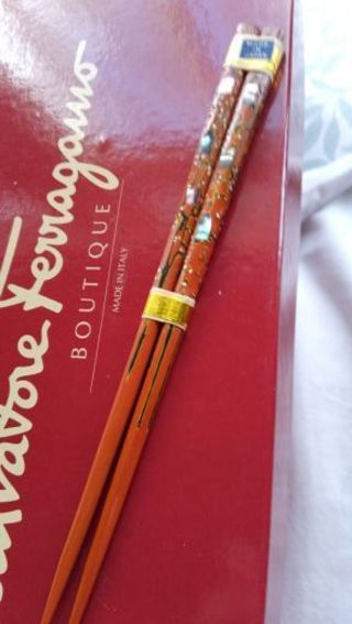 Vintage Chopsticks never used new in wrap, Made in Japan