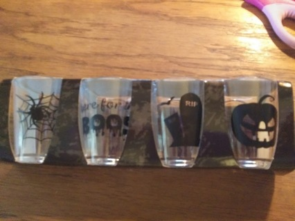 Halloween Plastic Shot Glasses