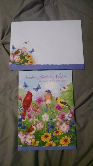 Cute Birthday Card with Envelope!  New!!