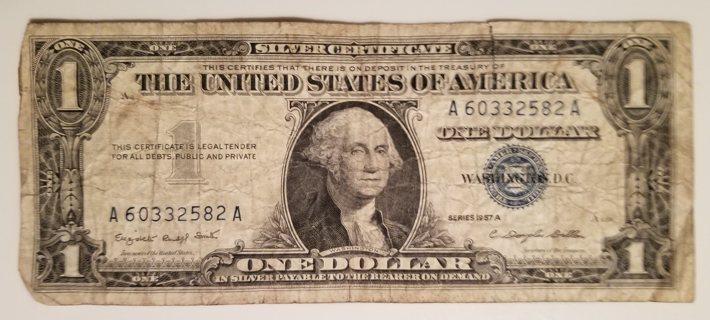 1957 USA 1 Dollar Silver Certificate