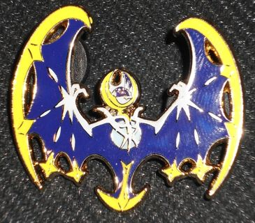 Pokemon Alola Collection - Lunala Collectable Pin & Sculpted Figure New 2016 NM/Mint
