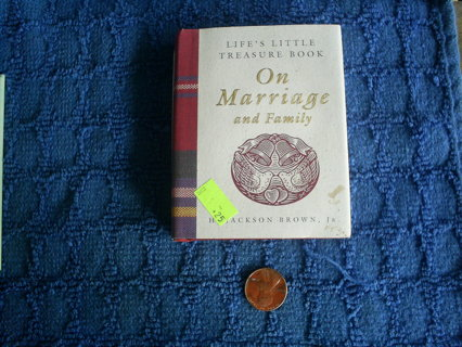 Mini Book Life's Little Treasure Book on Marriage & Family