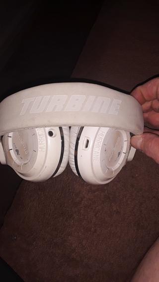 Turbine head phones bluetooth