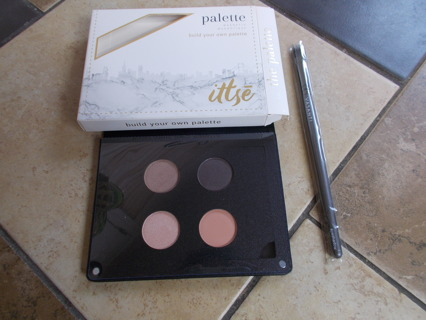 ittse Build Your Own Palette BONUS Vasanti Eyeshadow Brush