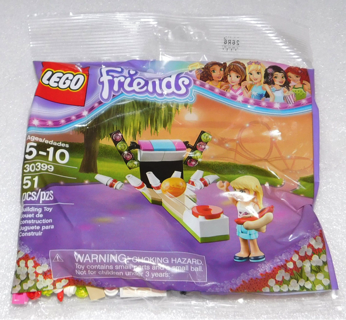 LEGO Friends Stephanie's Bowling Alley #30399 Polybag ~ 51 PCS ~ NEW ~ NIB