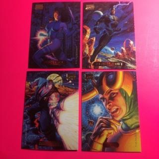 4 Marvel Masterpiece 1994 Cards!