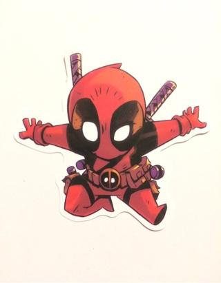 Marvel Deadpool sticker