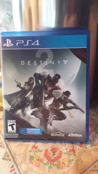 Destiny 2 PS4 (See photos)