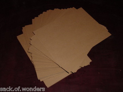 Free 27 Thin Cardboard Sheets Chipboard Pads Other Craft Items