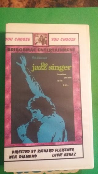 vhs neil diamond the jazz singer 1980 free shipping