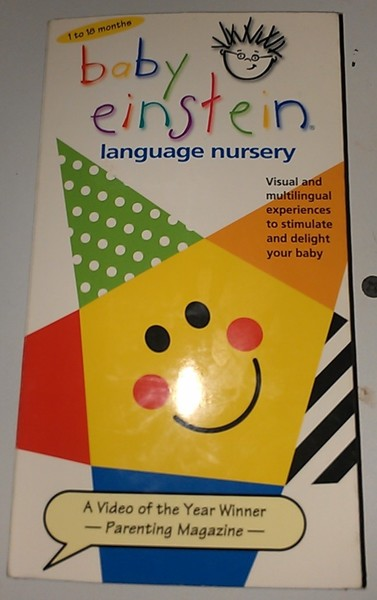 Free Baby Einstein Language Nursery Vhs Vhs Listia