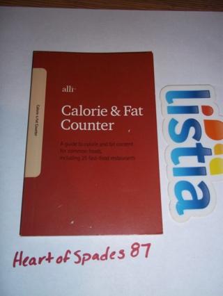 free alli calorie fat counter book other books listia com