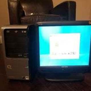 Hewlett Packard~Compaq Desktop Computer