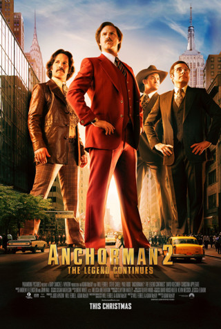"""""""Anchorman 2: The Ledgend Continue"""" HDX-""""I Tunes redeem Only"""" Digital Movie Code"""