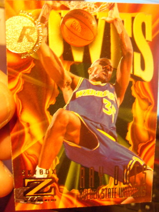 Ray Owes Rookie Basketball Card