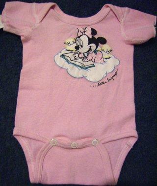 Disney Baby Minnie Mouse Oneise New Born