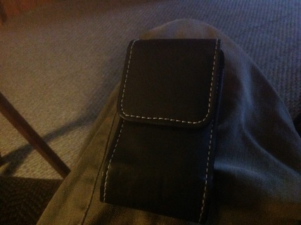 CELL PHONE CASE w BELT CLIP