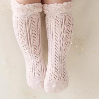 Baby Girl Socks 1-24 months Toddler Baby Cotton Mesh Breathable Socks Newborn Infant Non-slip Baby