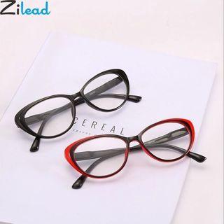 Zilead Classcial Cat Eyes Reading Glasses Clear Lens Presbyopia Glasses +1.0+1.5+2.0+2.5+3.0+3.5+4.0