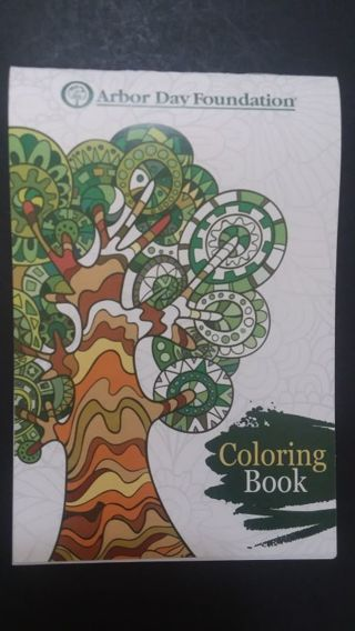 Realy Sweet little coloring/ activity book from Arbor Day Foundation.