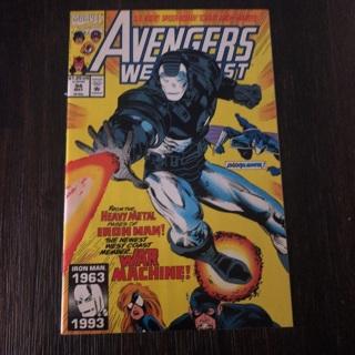 avengers west coast 94 marvel  1993