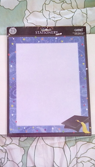 Graduation stationary