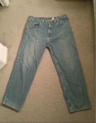 1 pair pants blue jeans 38 x 30