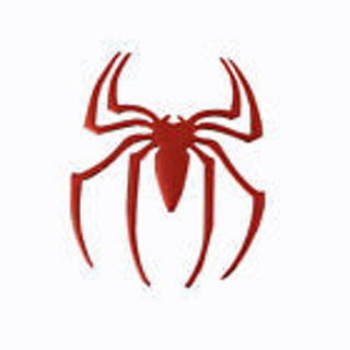 New 3D Red Spider Car Stickers Car Body Individuation Decoration Sunproof