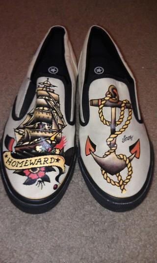 Sailor Jerry Converse Shoes