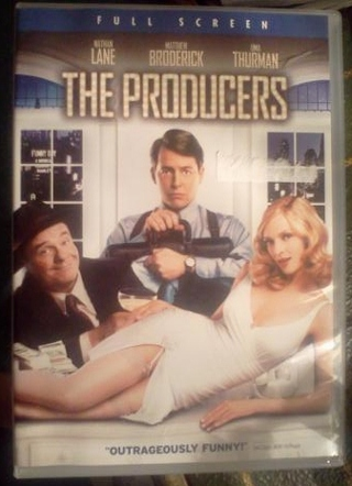 """The Producers"" Broadway Musical Movie Full Screen DVD"