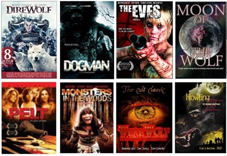 Lot of 9 Horror Movies on DVD (Box Set) - Classic and Recent, Not on Netflix!