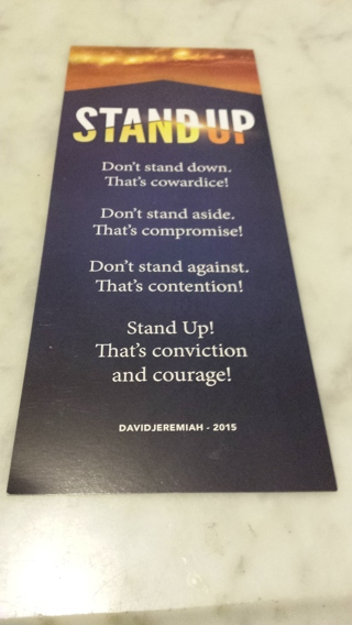 STAND UP BOOK MARKER