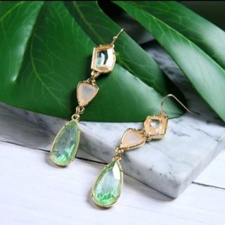 Adorable super Sparkly long drop earrings New Free ship