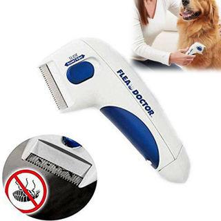 Flea Doctor Electric Flea Comb Pet Cat Dog Safe Flea Comb Kills Fleas Pet Brush