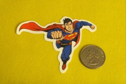 Superman Sticker/Read description before bidding