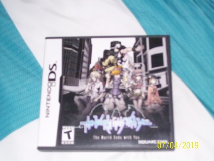The World Ends With You Nintendo DS (used)