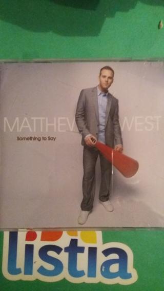 cd matthew west  something to say  free shipping