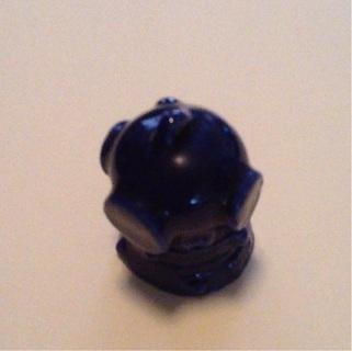 Divers helmet figure ( rose tea )