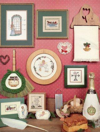 Cross Stitch Book: Christmas Remebered #2